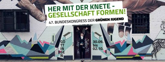 47. Bundeskongress der GRÜNEN JUGEND in Göttingen @ Freie Waldorfschule Göttingen | Göttingen | Niedersachsen | Deutschland