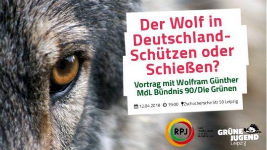 Der Wolf in Deutschland - Schießen oder Schützen? @ Grüner Raum am Kanal | Leipzig | Sachsen | Deutschland