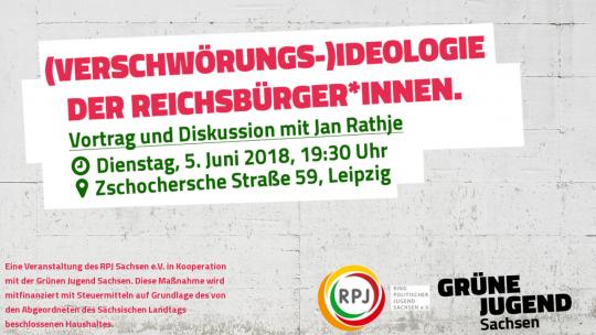 (Verschwörungs-)Ideologie der Reichsbürger*innen @ Grüner Raum am Kanal | Leipzig | Sachsen | Deutschland