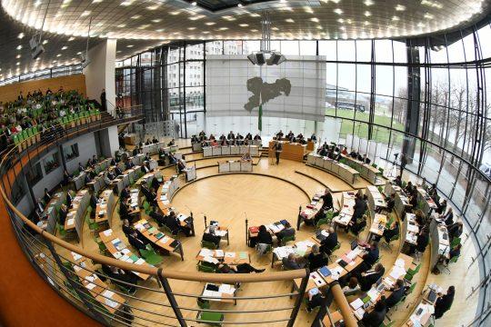 Neumitgliedertreffen im Sächsischen Landtag