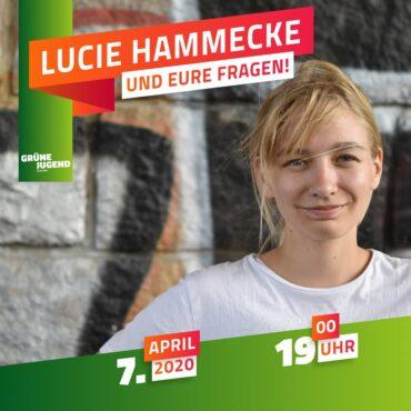 Lucie Hammecke und Eure Fragen!