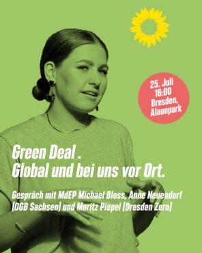 Green Deal. Global und bei uns vor Ort @ Alaunpark Dresden