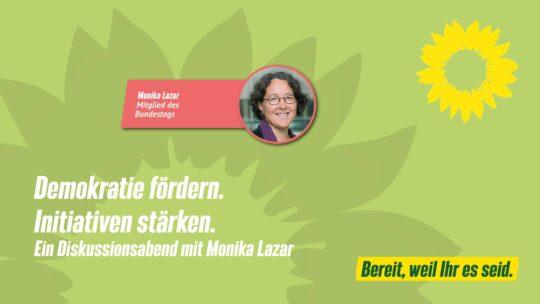 Demokratie fördern. Initiativen stärken. @ Grünes Büro